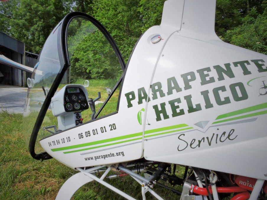 Parapente Helico service                 © Belley Bugey Sud Tourisme