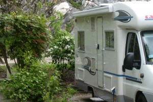 Motorhomes service areas