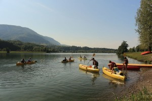 Canoe/Kayal, descent down the Rhône