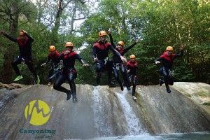 Activities Sports in nature : Canyoning émotions