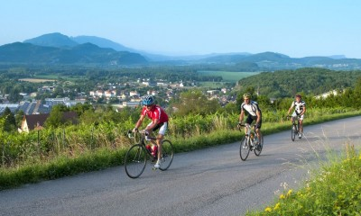 Road cycling route : Tour du lac du Bourget