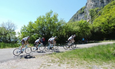 Road cycling loop : La Chambotte