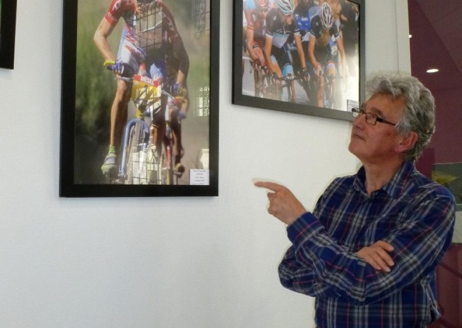 Tour de France et Tour de l'Ain s'exposent à l'Office de Tourisme