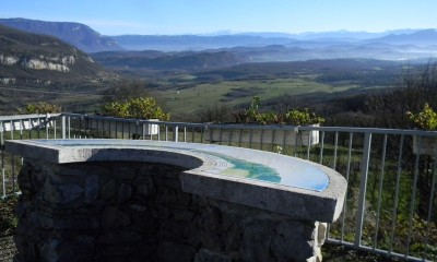 Viewpoint above Contrevoz