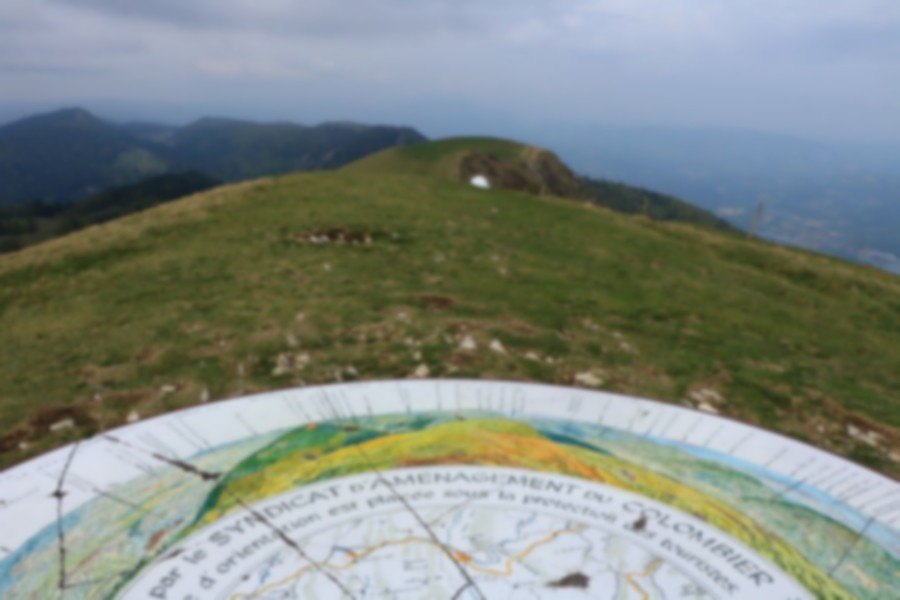 Hike of the Grand Colombier starting from Munet