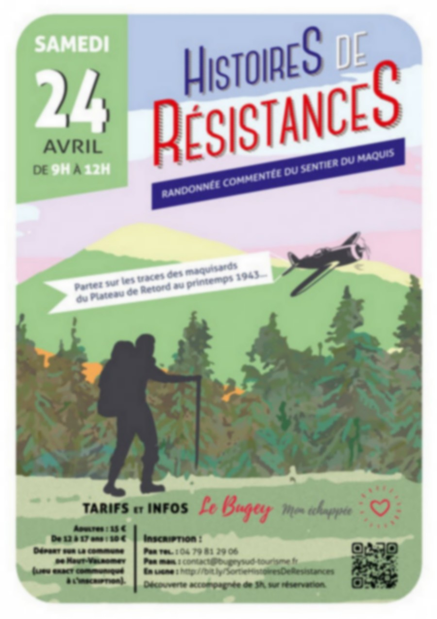 Stories of Resistance: commented hike on the Maquis trail on the Plateau de Retord